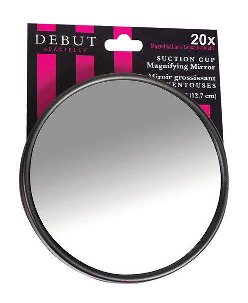 Зеркало на липучке 9 см х 20 увеличение. 2 цвета. Арт. D309