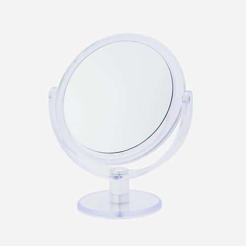 Зеркало 17 см х 12 увеличение на подставке. Арт. D208