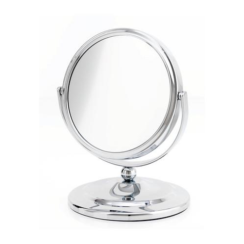 Зеркало 12.5 см х 7 увеличение - хром. Арт.D805