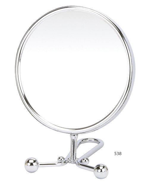 Зеркало 15 см х 5 увеличение - хром. Арт. 538