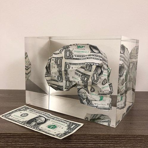 Encapsulated $1Money Skull