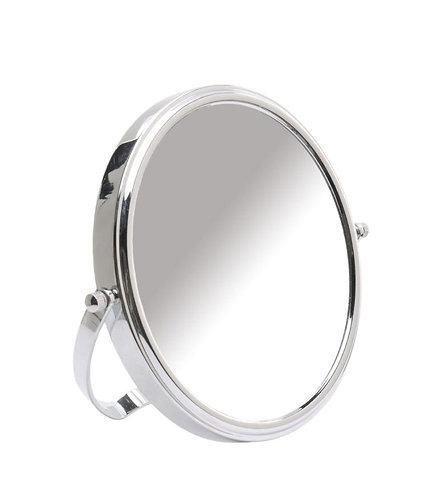 Зеркало 20 см х 10 увеличение - хром. Арт. D806