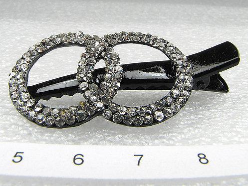 Заколка-пеликан Rings   Prime collection. Арт. P34953