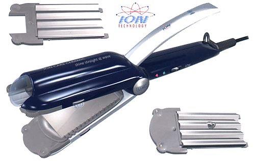 Щипцы для выпрямления и гофрирования с ионизатором. Арт. 3074ASI