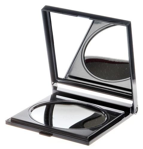 Зеркало дорожное х 6 увеличение. Черный цвет. Арт. 207