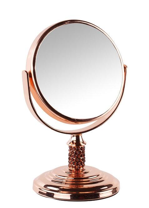 Зеркало мини 8,3 см х 4 увеличение. 2 цвета. Арт. 831