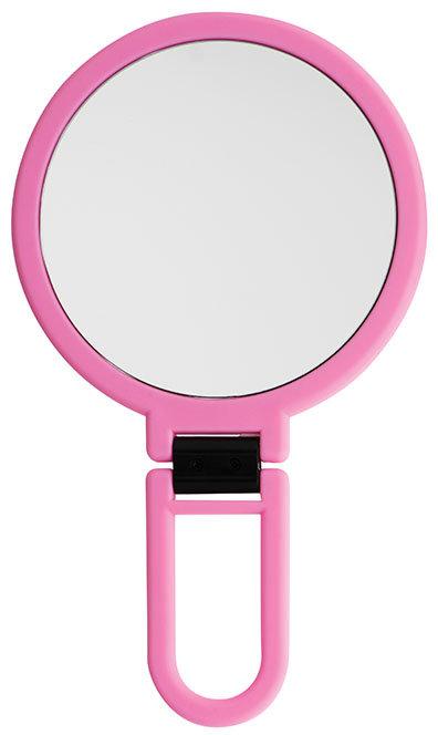 Зеркало ручное 14см х 5 увеличение. Три цвета. Арт. D9417