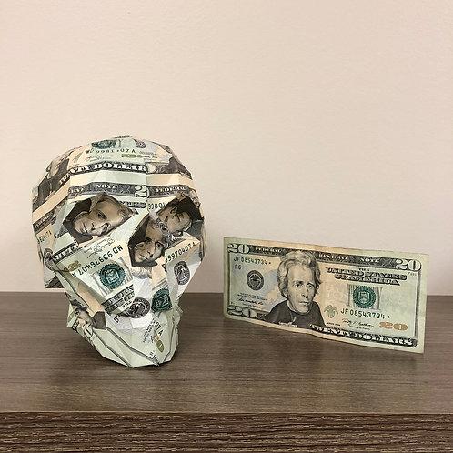 Money Skull $20