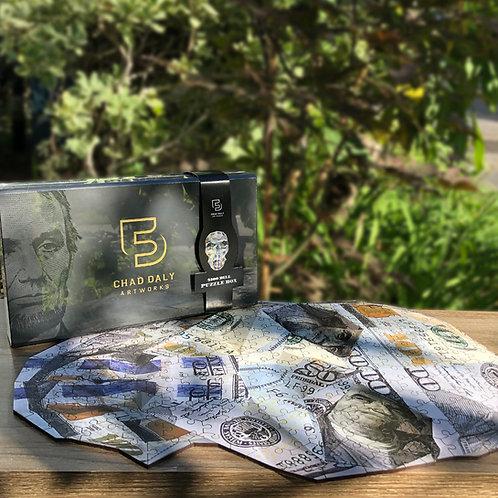 $100 Money Skull / Puzzle