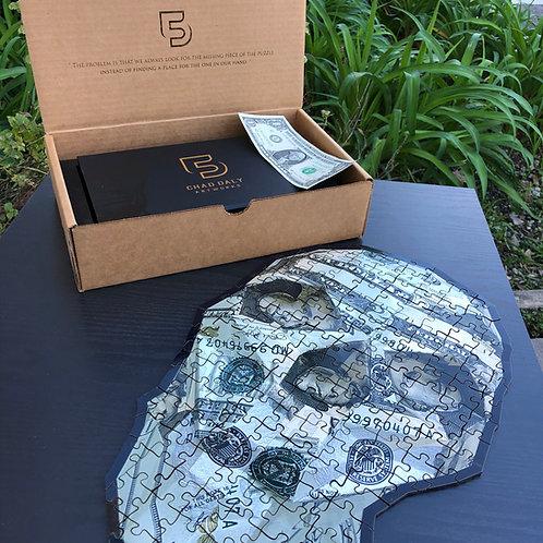 $20 Money Skull Puzzle