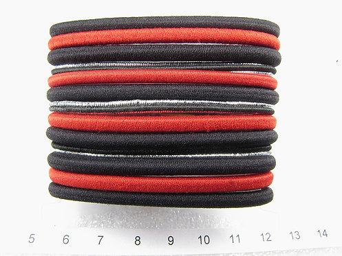 Набор резинок Black&Red. Арт. 38406