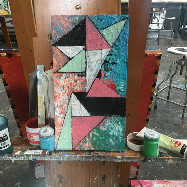 Small Geometric Abstraction