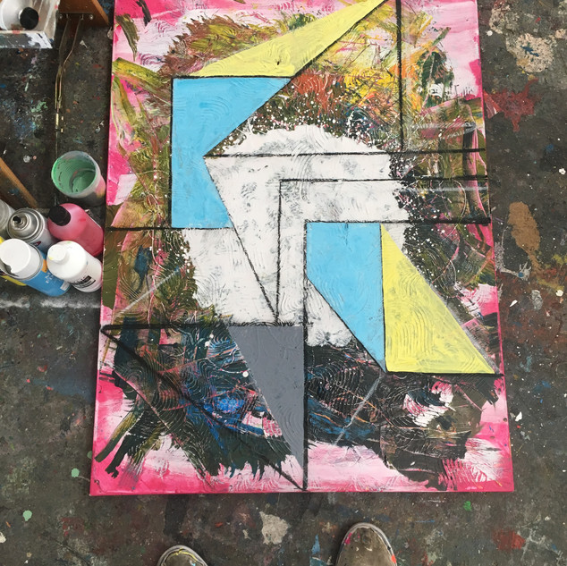 Unfinished Geometric Abstraction