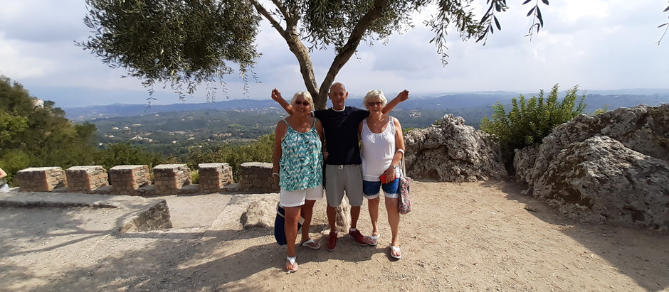Corfu villages video series, All Charities Day & Village tours.