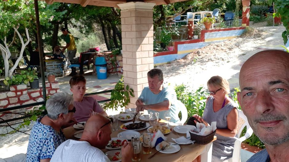 Corfu Blog: Covid, Chlomos & Church Bar.