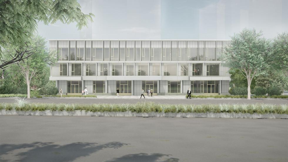 Sep. 2020, Jingan insurance center facade renovation, Shanghai