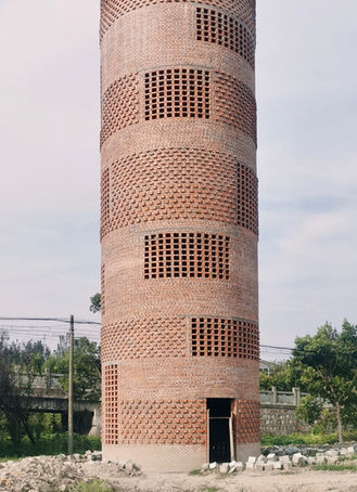Oct. 2020, construction of Water Tower