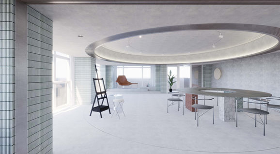 Aug. 2020, Construction has begun on Painting studio in Xian