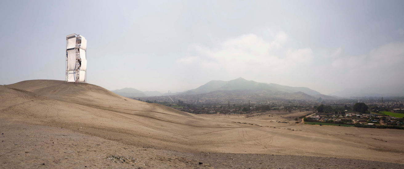 Apr. 2019, Atelier Mozh attend Pachacamac park landscape competition