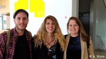 Dominic Müller, Sofia Tsaliki and Eveline Kantor (A. Wyns)