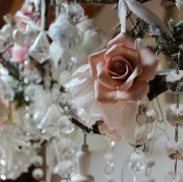 Tischleuchte floral by Jasmin Luzi