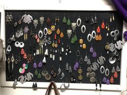 Fun and bright earrings!