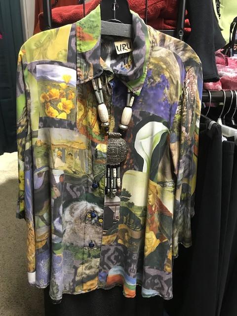 Silk tunics from URU are always a fashion statement!