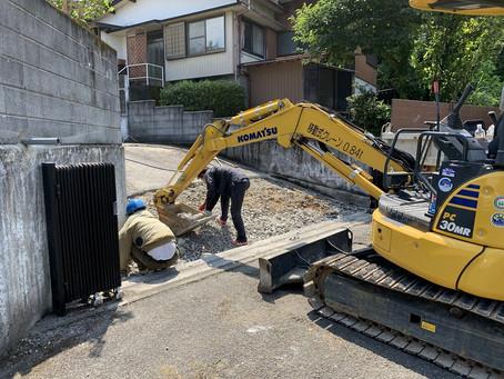 コンクリート打設工事