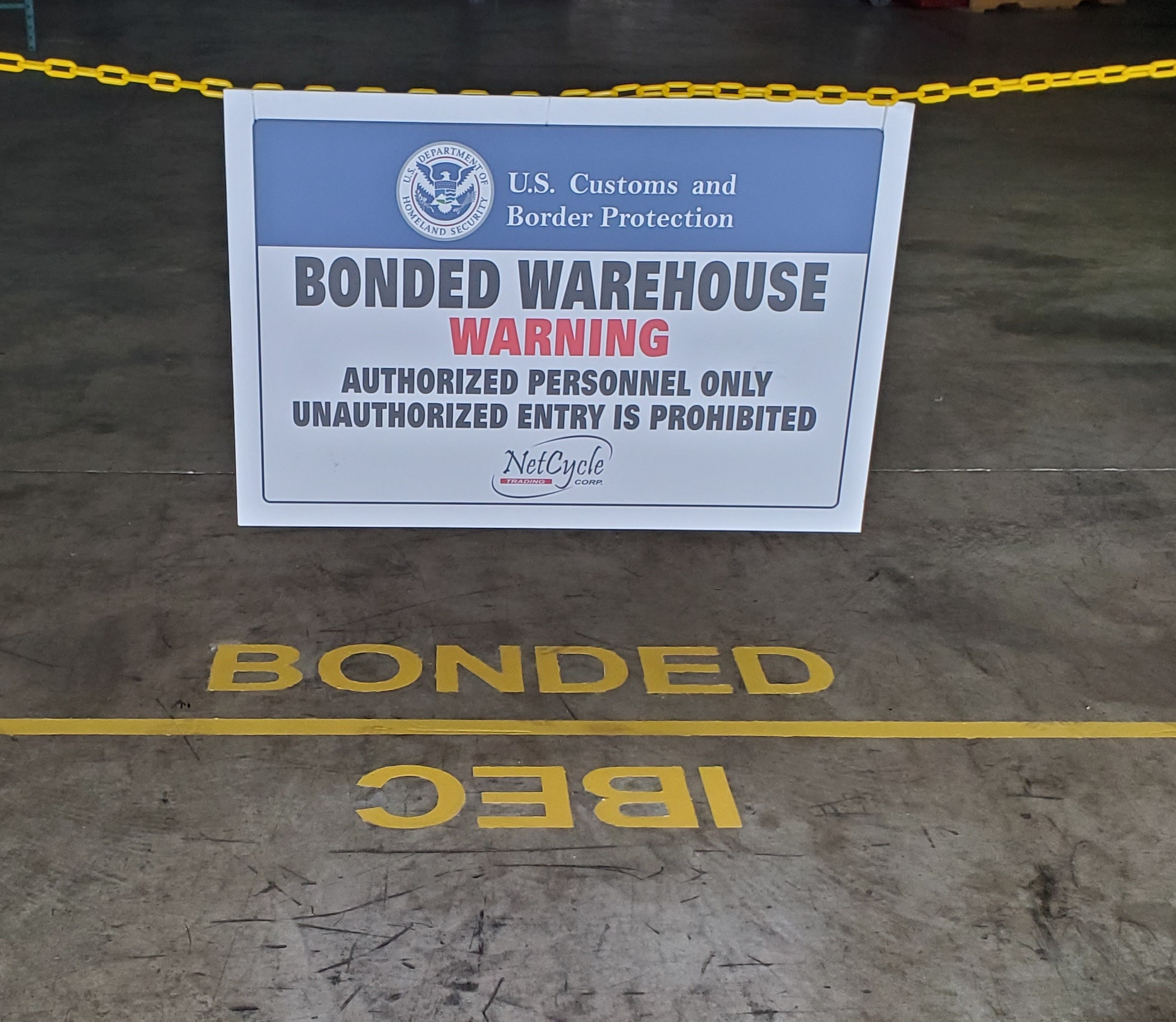 Bonded warehouse IBEC Facility