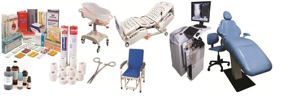 Equipos medicos y medicinas