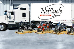 Netcycle vehicles shipping