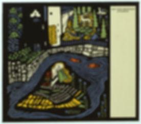Oskar Kokoschka Die träumenden Knaben. Blatt 1: Schlafende Frau. 1907 - 1908
