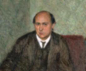 Porträt Arnold Schönberg um 1907