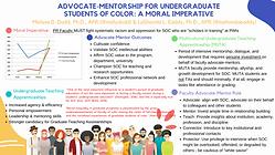 Advocate-Mentorship for Undergraduate St