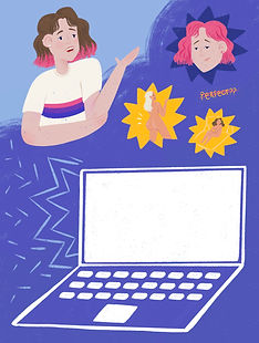 story editorial illustration magazine publication unrealistic body image steriotypes online