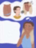 story editorial illustration magazine publication toxic relationship body shaming