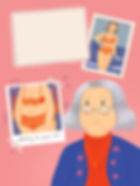story editorial illustration magazine publication aging old age body change memories