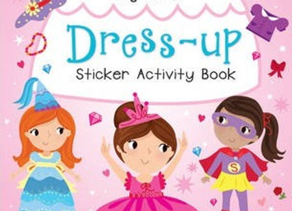 My First Dress-up Sticker Activity Book (Scholastic Activities)