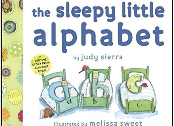The Sleepy Little Alphabet: A Bedtime Story from Alphabet Town