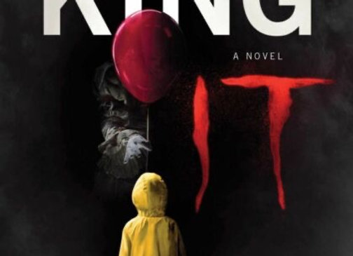 IT: The classic book from Stephen King with a new film tie-in cover