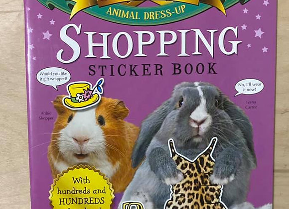 Shopping: Star Paws: An Animal Dress-up Sticker Book