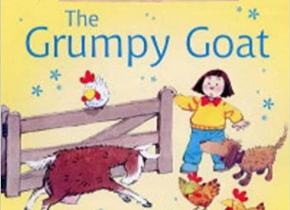 Grumpy Goat (Usborne Farmyard Tales)