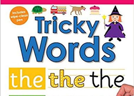 Tricky Words (Wipe Clean Workbooks)
