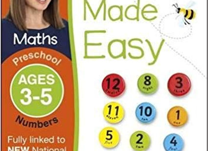 Maths Made Easy Numbers Preschool Ages 3-5preschool Ages 3-5