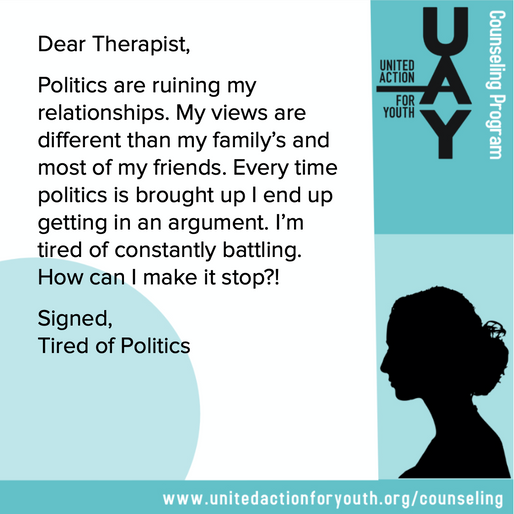Tired of Politics