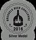 Zilveren medaille op de Brussels Beer challenge 2016