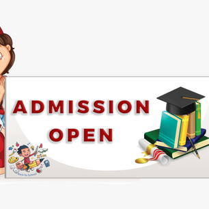 Admissions Page OPEN