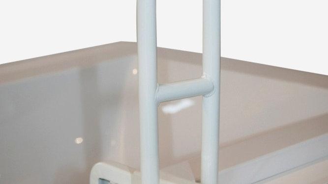 Poignée pour bord de baignoire, 45, 5cm