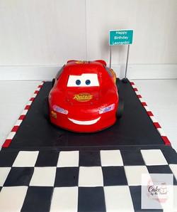 Lighting McQueen cake! ⚡️🏎Chocolate cak