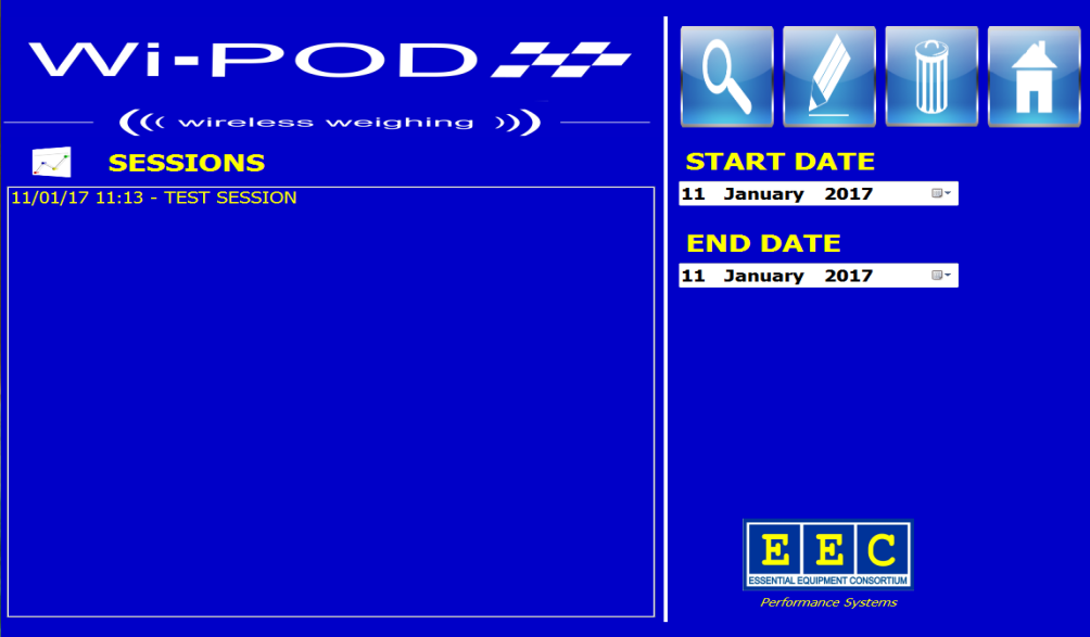 Wi-POD Saved Session